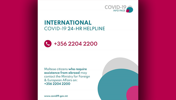 COVID19 International Helpline