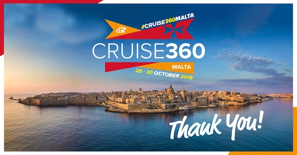 Valletta hosts CLIA's Cruise360