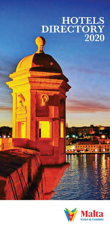 IPL publish 22nd Edition of Malta Hotels Directory