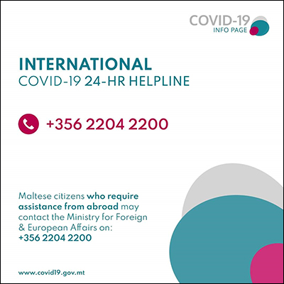 COVID-19 International Helpline